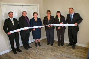 Official opening for Affordable Housing