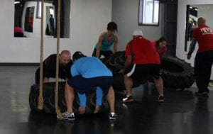 The Cutting Edge uses athletic based training to build real world functional strength and conditioning.