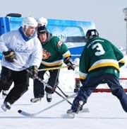 Pond Hockey happens this weekend in Miramichi!