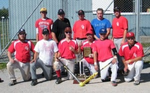 Eel Ground Eagles Championship Team
