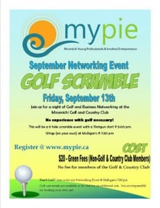 MYPIE Golf Scramble 2013