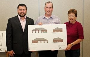 New Fire Hall in Blackville sketches unveiled.