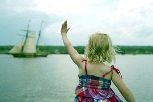 Shauna Hiemstra submitted this photo of her four year old daughter Avery waving to a ship during the Tall Ships Festival in Miramichi this summer. Find more of her work by searching Shauna Hiemstra Photography on Facebook.