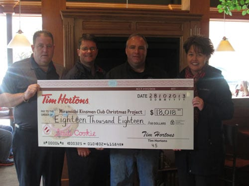Tim Hortons Smile Cookies campaign raised over $18,000 locally this year