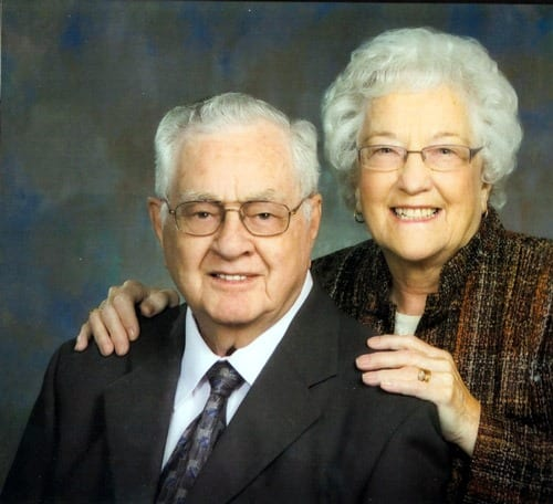 Congratulations to Edith and Laurie Black on their 63rd Wedding Anniversary