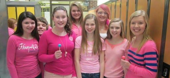 Pink Shirt Day at Blackville School