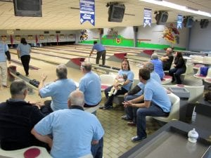 A great time was had by the Masons attending the Bowlathon, with lots of laughter at the many gutter balls.