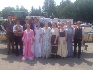 Beaubears Island characters participated in the 2014 Canada Day Parade.
