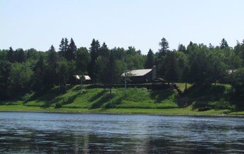 Mountain Channel Salmon Club, classic salmon lodge on the Miramichi River.