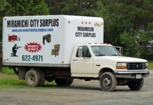 Miramichi City Surplus buys and sells new and used items.