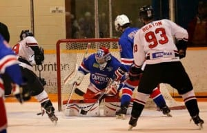 Timberwolves hosted the Summerside Capitals, November 29th, 2014. (Photo by Greg MacDiarmid)