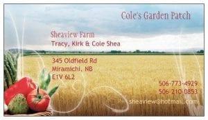 Cole's Garden Patch