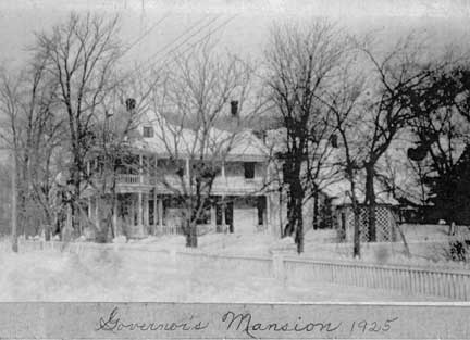 Governor's Mansion 1925