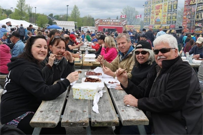 Large crowds turned out over the weekend to enjoy the tastes, smells, sounds and lots of other fun at the annual Rotary RibFest on the waterfront in downtown Newcastle.