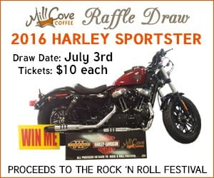 Win a 2016 Harley Sportster
