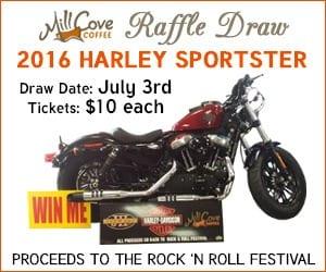 Win a 2016 Harley Sportster