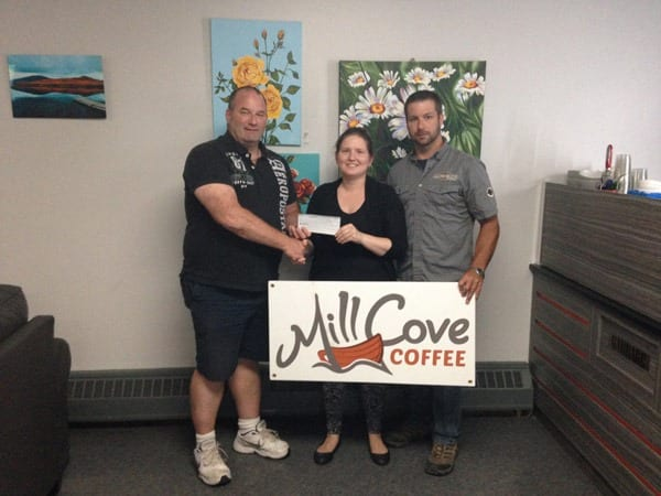Rock 'n Roll Fest Receives $4145 Donation from Mill Cove Coffee