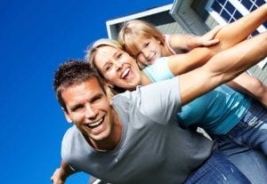 Happy-smiling-family-with-child