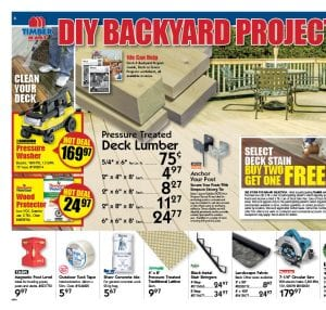 DIY Backyard Projects Salesflyer