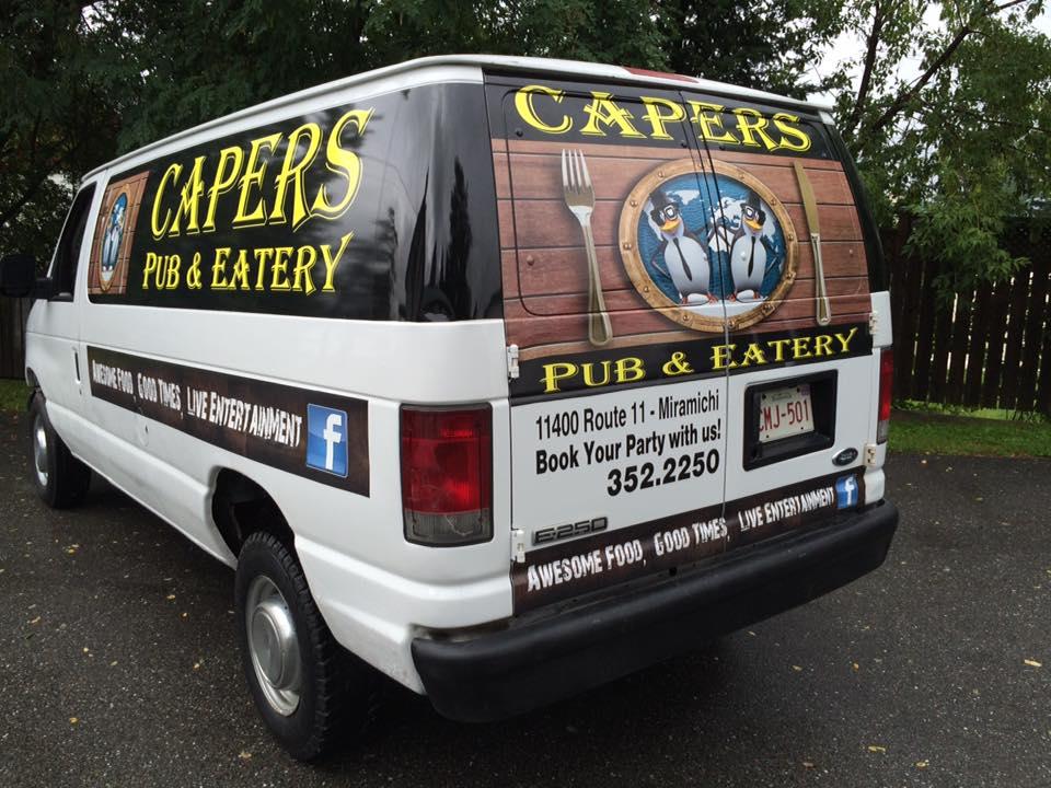 Introducing Caper's Pub & Eatery in A Taste of Miramichi