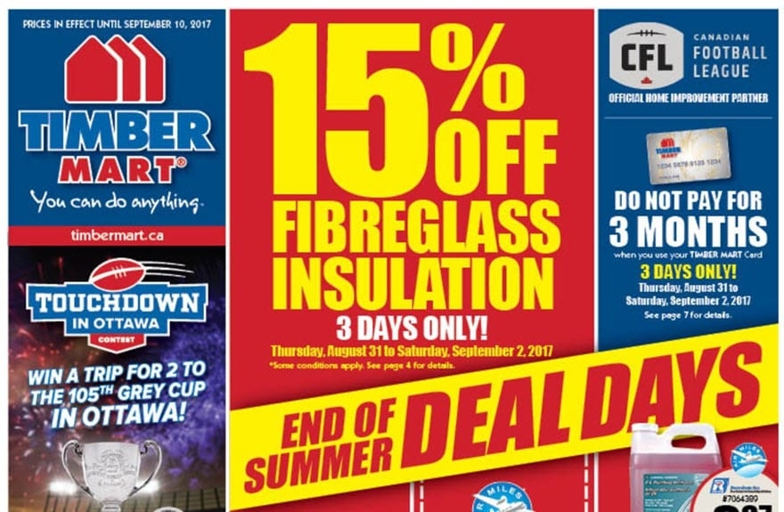 End of Summer Deal Days