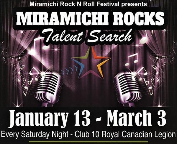 Miramichi Rocks Talent Search