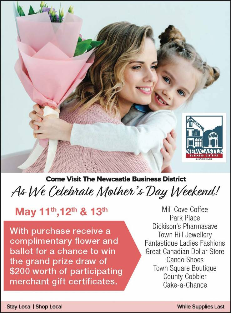 Come Celebrate Mothers Day Weekend in the Newcastle Business District