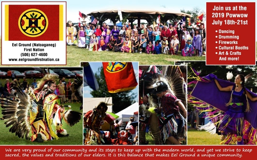 22nd Annual Natoaganeg - Eel Ground 1st Nation Pow Wow 2019