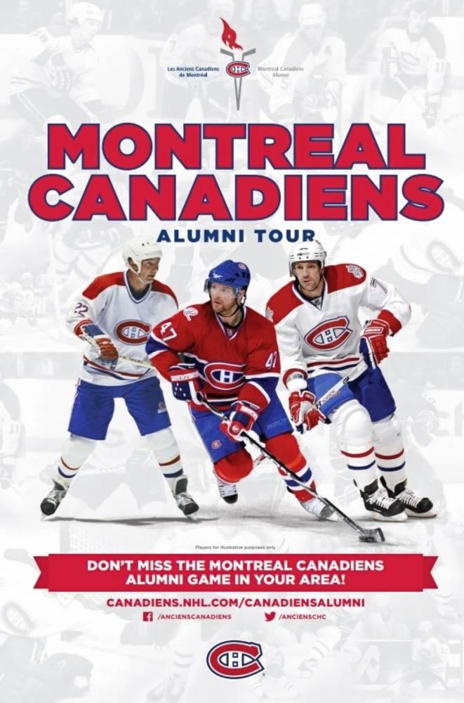 sale retailer 30a34 c3686 Montréal Canadiens Alumni Hockey Tour - Renous, NB - Giver ...