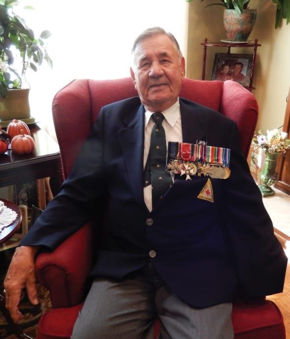 SECOND WORLD WAR VETERAN SHARES STORY OF SERVICE, LOSS OF LIMB