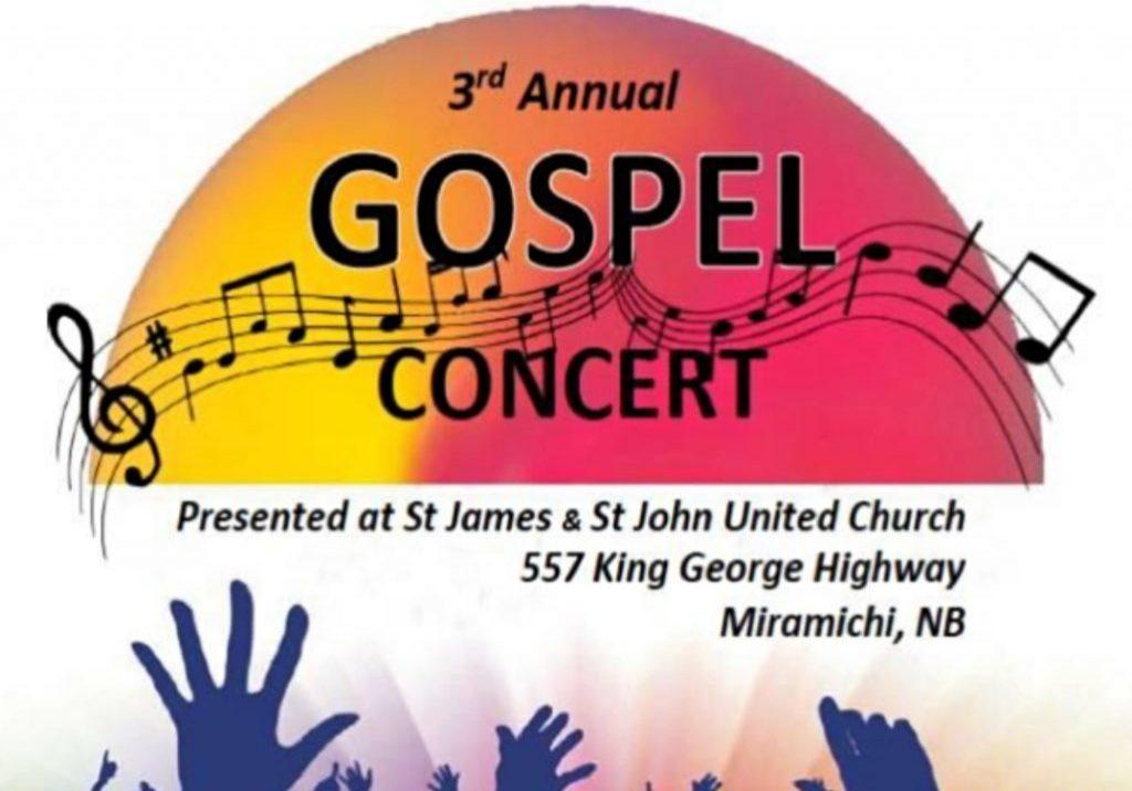 3rd Annual Gospel Concert Logo
