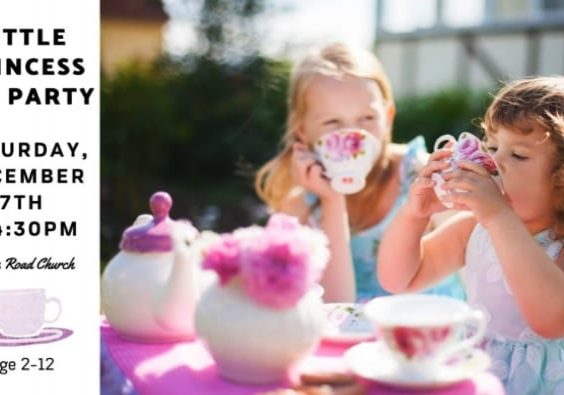 Princess Tea Party at the Boom Road Pentecostal Church