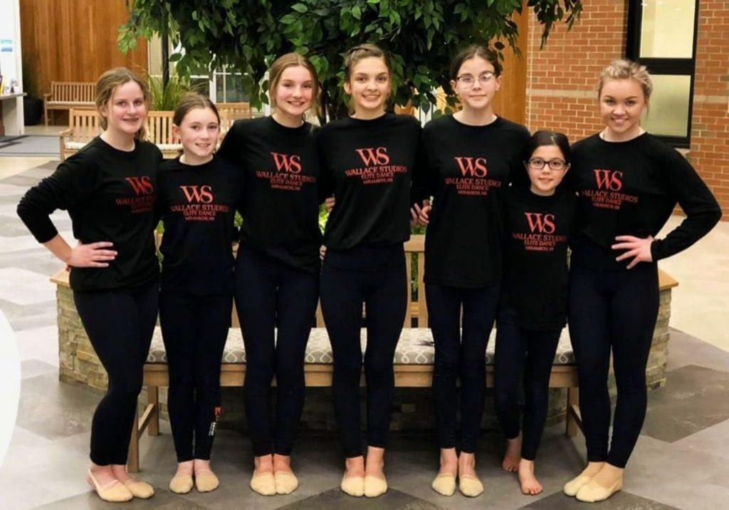 Wallace-Studios-Elite-Dance-Members-At-Losier-Hall